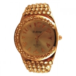 Rhinestone Encrusted Bangle Watch - LWB-006