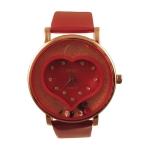 Heart Fashion Leather Watch - LFL-017